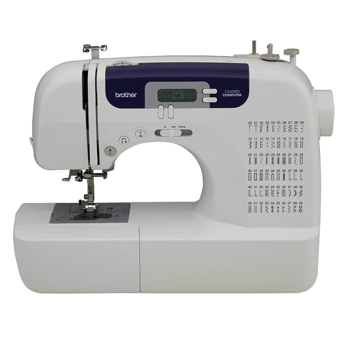 Brother CS6000i Feature-Rich Heavy Duty Sewing Machine