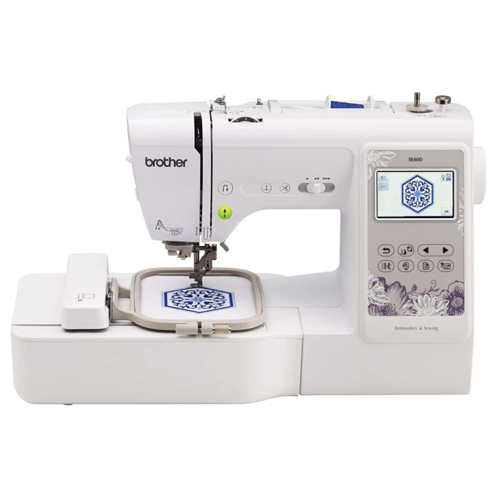 Brother SE600 Combination Computerized Sewing and 4x4 Embroidery Machine