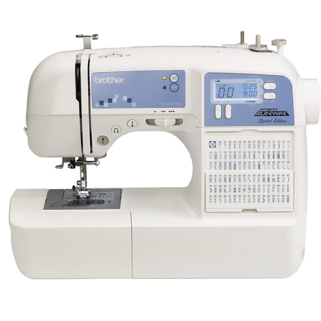 Brother XR9500PRW sewing and embroidery machine