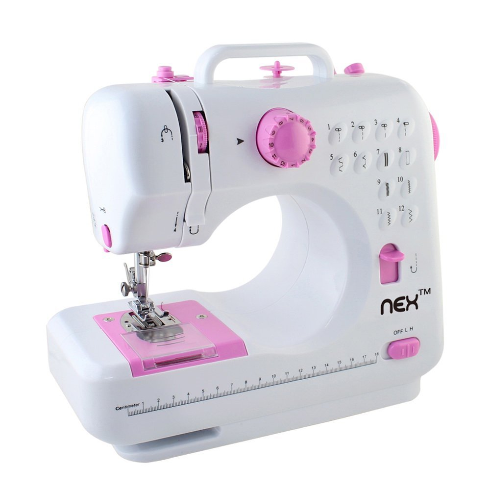 NEX Sewing Machine Children Present Portable Crafting Mending Machine