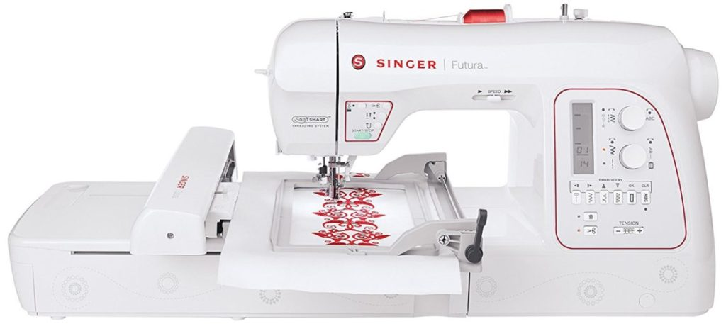 SINGER Futura XL-580 sewing and embroidery machine