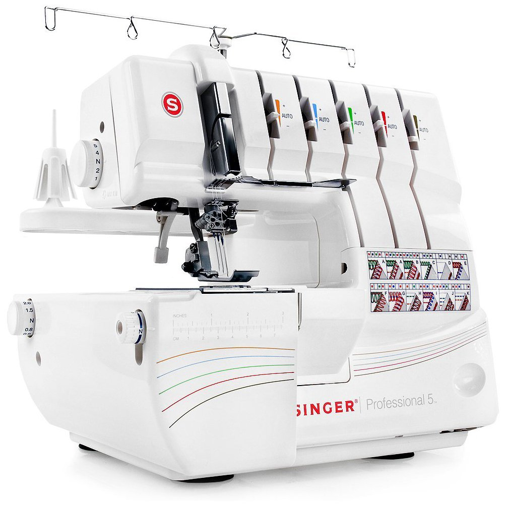 SINGER | Professional 5 14T968DC Serger with 2-3-4-5 Threaded Capability