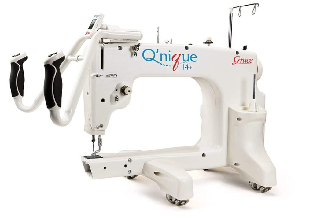 'nique Long Arm Quilting Machine 14 inch