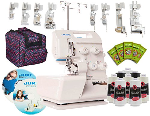 Juki Pearl Line MO-654DE 2/3/4 Thread Serger
