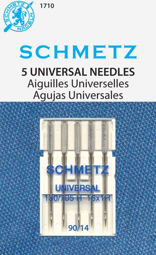 SCHMETZ Universal (130/705 H) 5 Household Sewing Machine Needles
