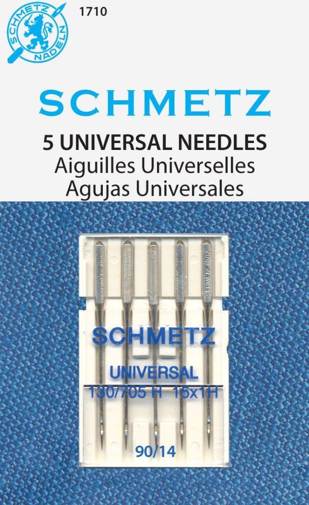 SCHMETZ Universal (130/705 H) 5 Household Sewing Machine Needles