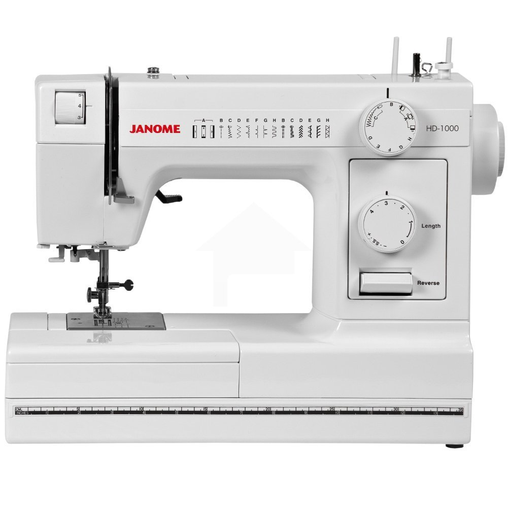Janome HD1000 Heay-Duty Sewing Machine with 14 Built-In Stitches
