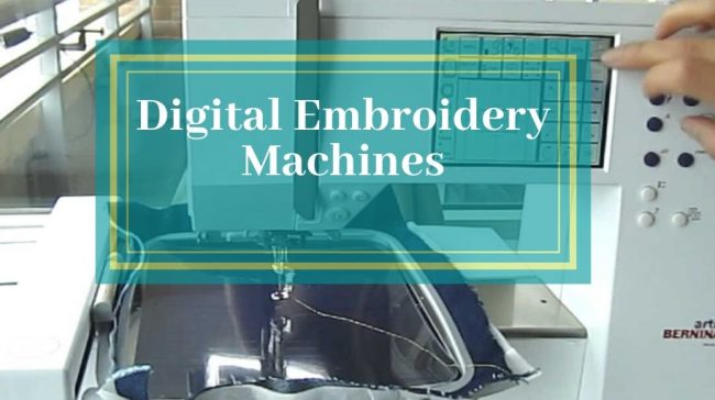 Digital Embroidery Machines